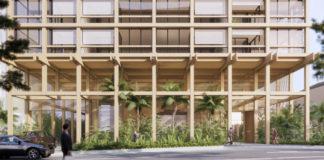 Architectual rendering of 20-24 Edmondstone Street, South Brisbane