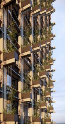 Proposed Trellis facade