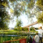 Rendering of Barrambin Boardwalk - Victoria Park