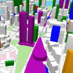 Conceptual BrisbaneDevelopment.com massings of 200 Turbot Street