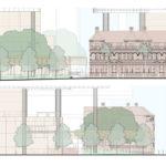 Bellevue Plaza elevations