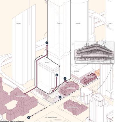Context considerations of Bellevue Plaza