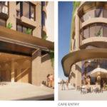 Architectual rendering of 210 Brunswick Street, Fortitude Valley podium