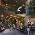 Architectural rendering of 166 Breakfast Creek Road retail arcade