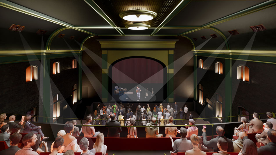Image of inside the current Princess Theatre, South Brisbane
