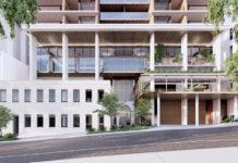 Architectural rendering of Arklife Cordelia Street in South Brisbane
