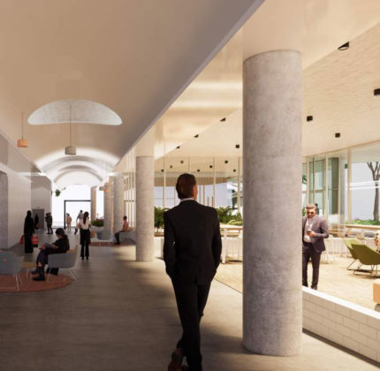 Architectural rendering of inside 19-25 Campbell Street, Bowen Hills