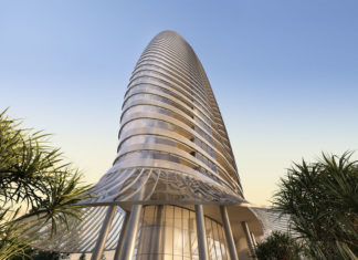 Architectural rendering of Royale Gold Coast