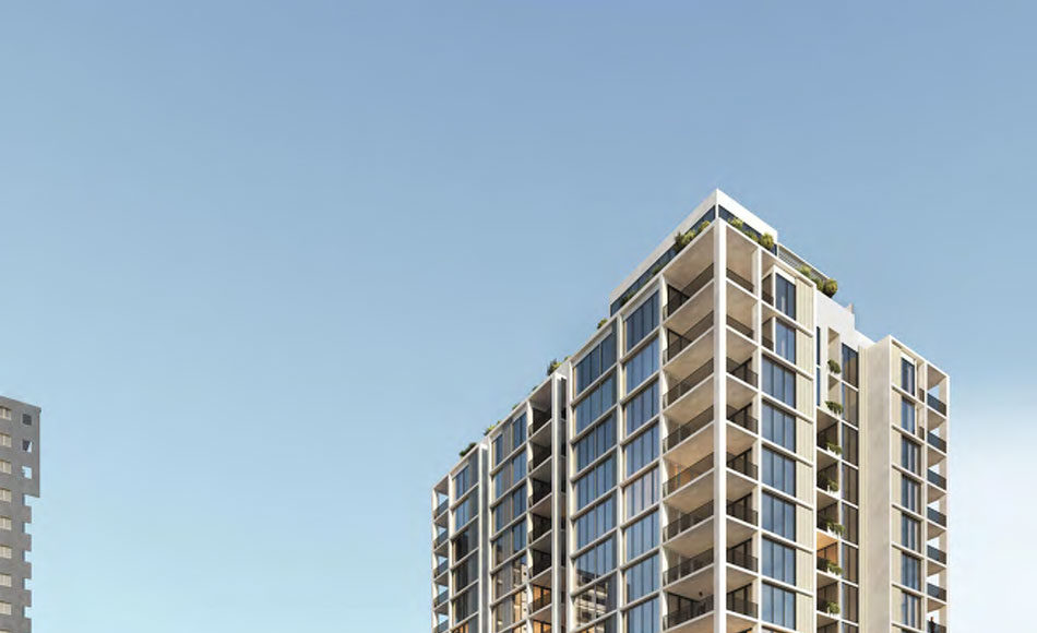 Architectural rendering of 28 Lissner Street, Toowong