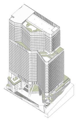 Proposed massing design
