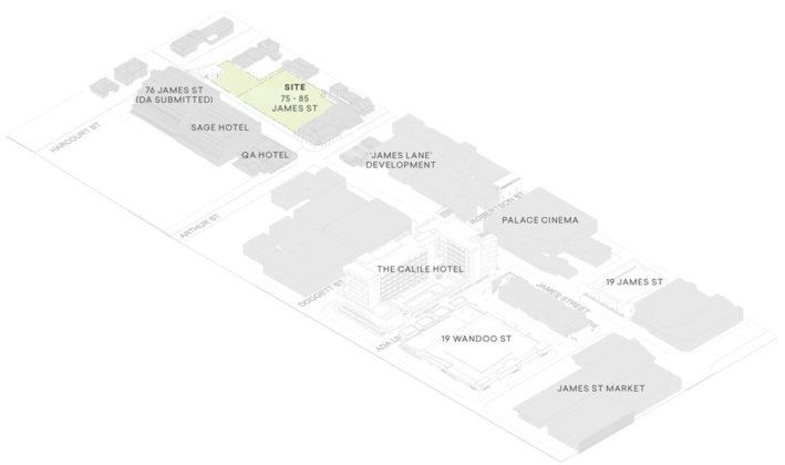 James Street precinct plan