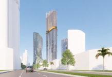 Architectural rendering of Gurner's La Pelago development