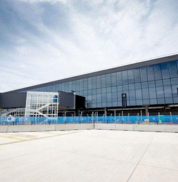 Gold Coast airport terminal construction progress